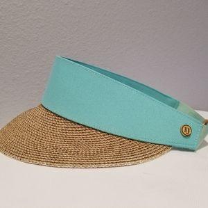 Eric Javits Custom Fit Visor Hat One Size Natural